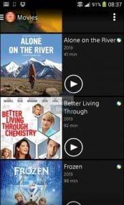 ver películas online iphone