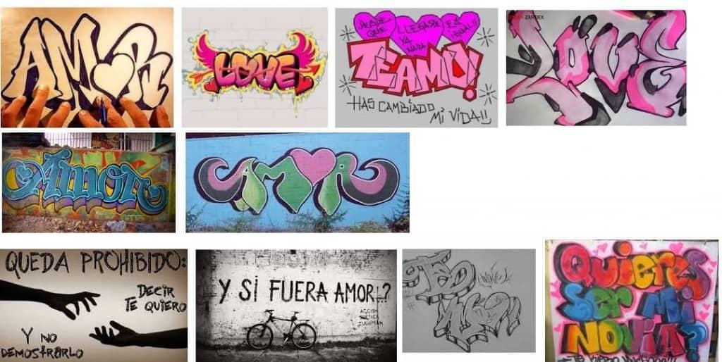 graffitis de amor 1