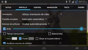 reproductores video Android