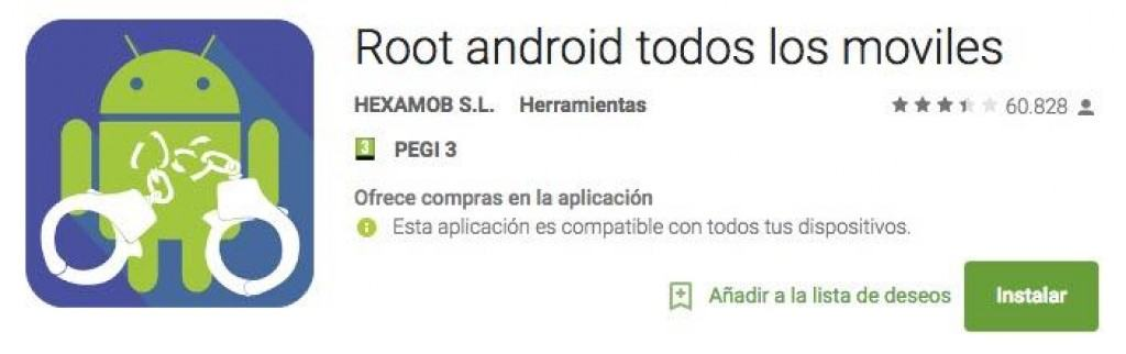 rootear cualquier móvil