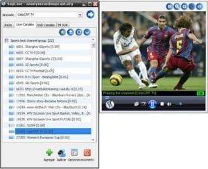 aplicación fútbol
