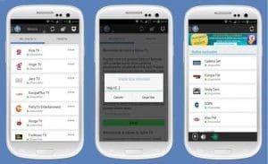 aplicaciones ver fútbol Android