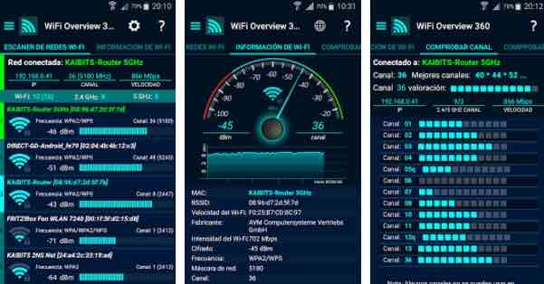como gestionar red wifi Android