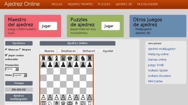 mejores sitios ajedrez online