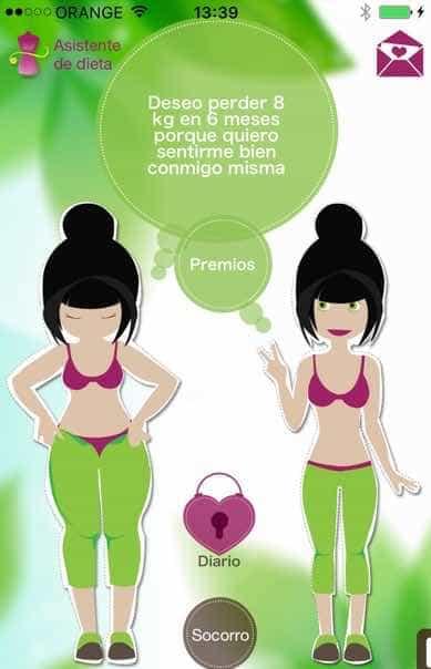 Aplicacion dieta perder peso