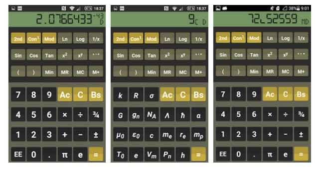 Calculadora Científica Android