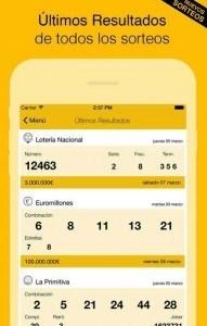 app resultado lotería