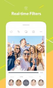 aplicación palo selfie