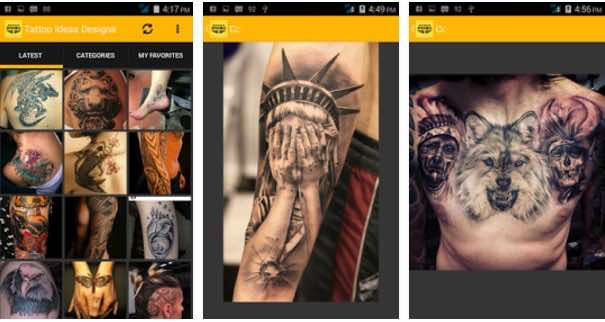 mejor app Tattoo