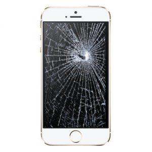 reparar pantalla rota teléfono