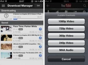 descargar videos youtube en iphone sin programas