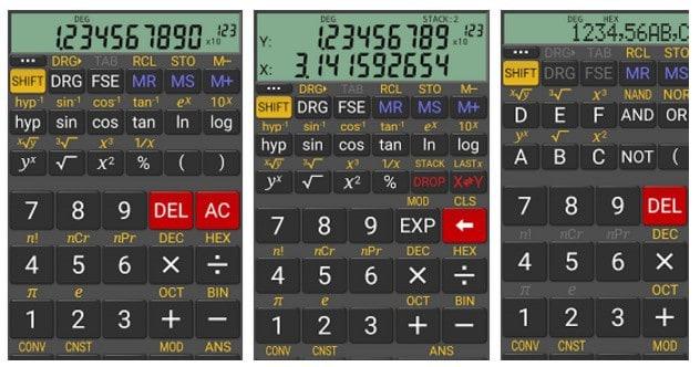 Calculadoras Científicas Android