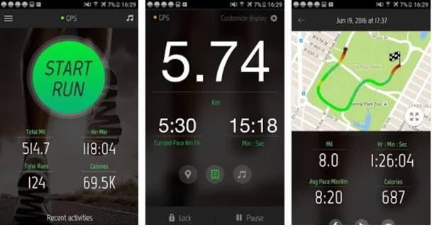 aplicación para correr 2017