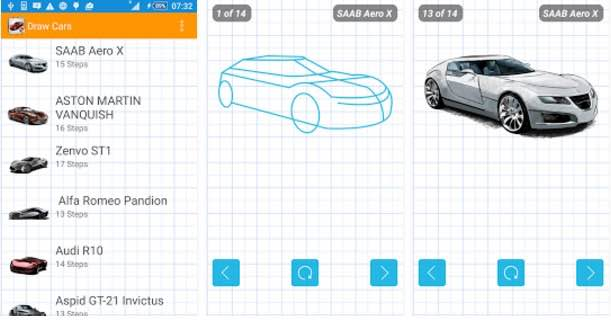 aprender a dibujar coches