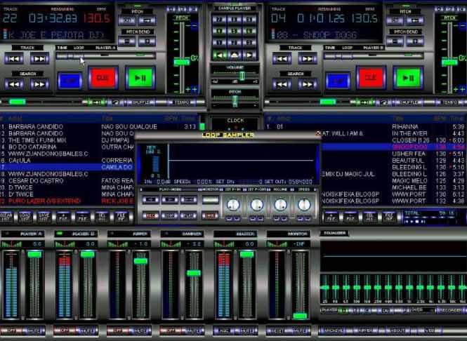 programa DJ 2017