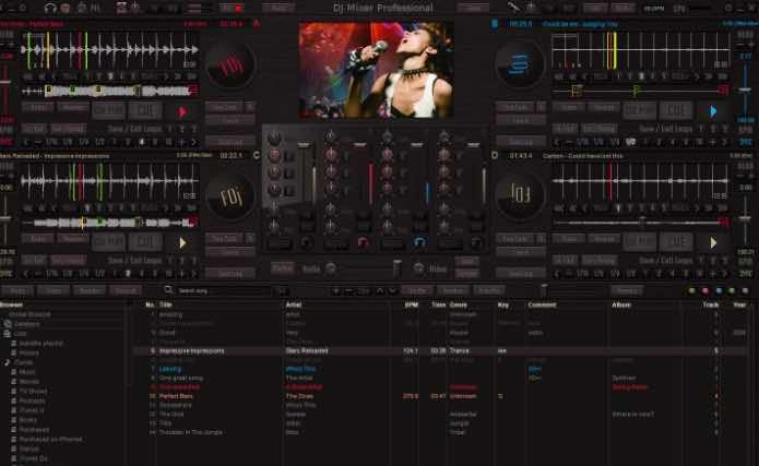 programa sencillo DJ